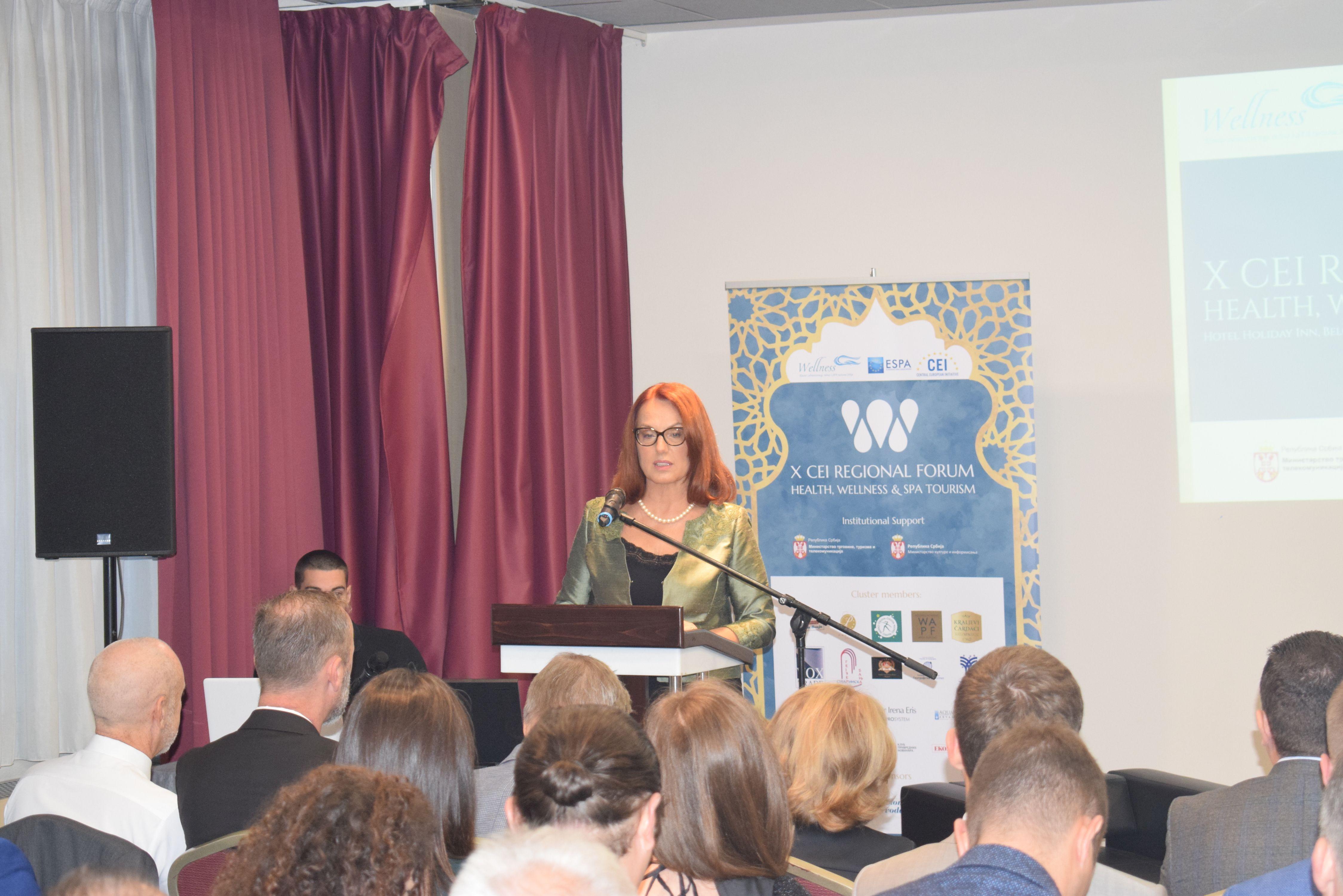 Održan 10.CEI Regionalni forum zdravstvenog velnes i spa turizma