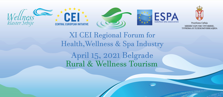 XI CEI regionalni forum zdravstvene velnes i spa industrije